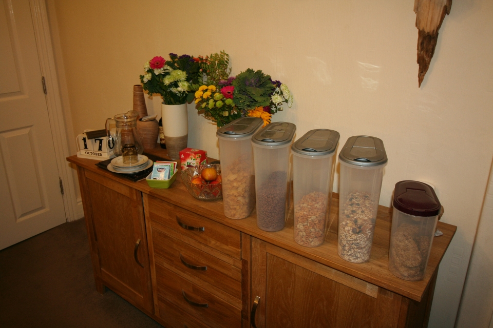 In our gallery St Hilda Guest House breakfast cereal