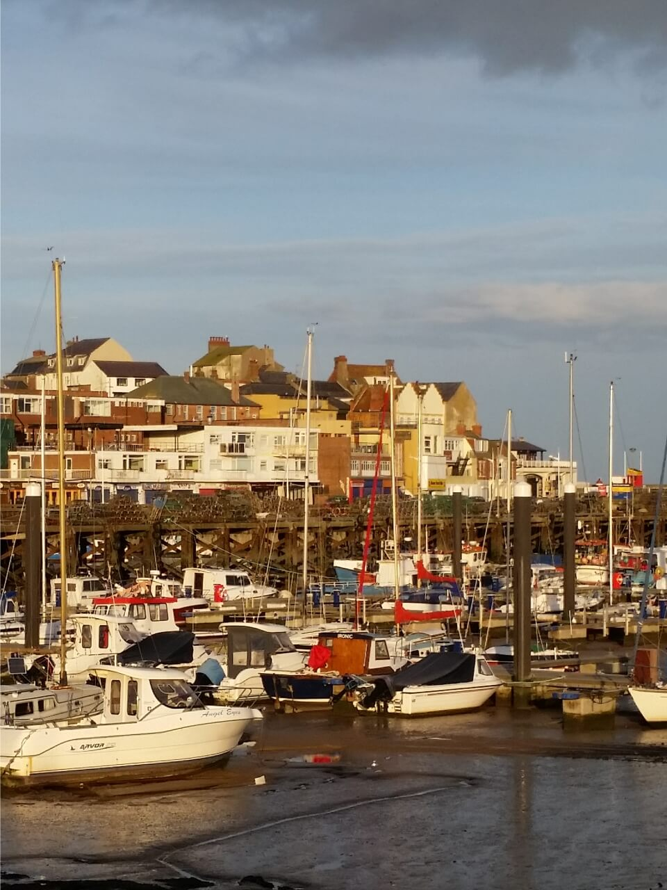 St Hilda Guest House Bridlington Harbour boats