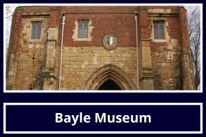 Local Attraction Bayle Museum featured by St Hilda Guest House Bridlington
