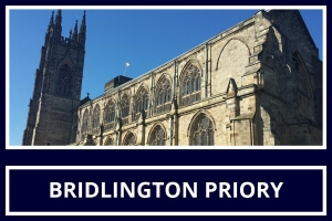 Local Attraction Bridlington Priory Church featured by St Hilda Guest House Bridlington