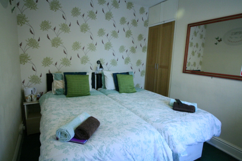 In our gallery St Hilda Guest House double or twin bedroom room 2