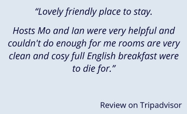St Hilda Guest House review from Tripadvsior