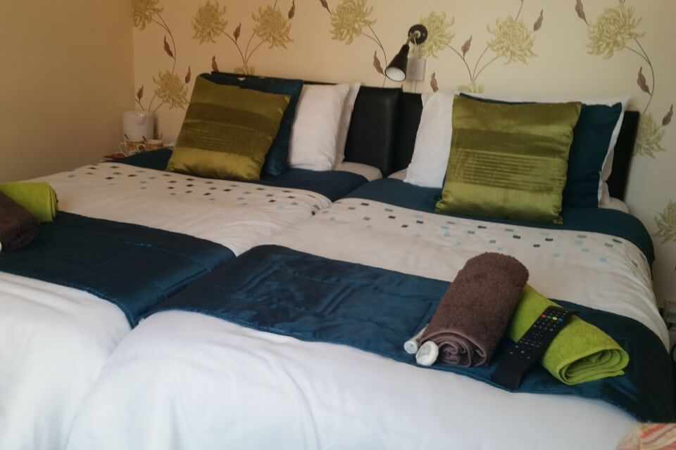 In our gallery St Hilda Guest House double bedroom room 2
