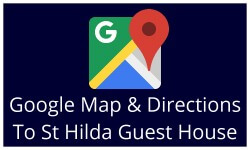 Google map and directions to St Hilda Guest House Bridlington